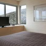 Maison design a Athenes - Chambre
