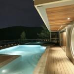 Maison design a Athenes - Piscine