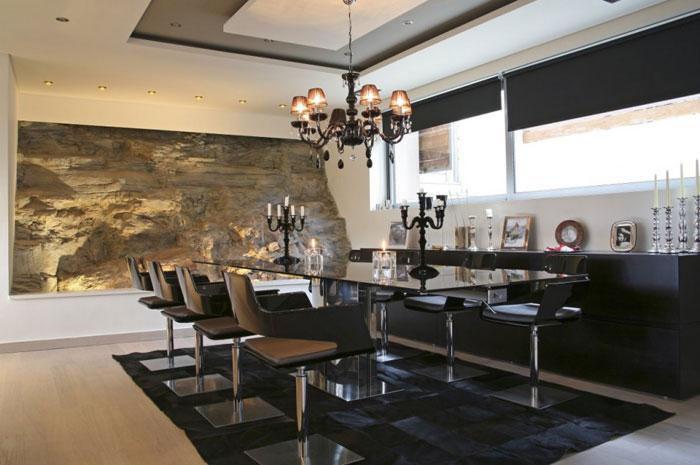 Maison design a Athenes – Salle a manger