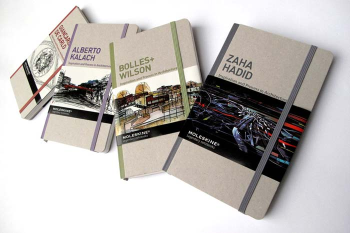 Moleskine Architecture Books
