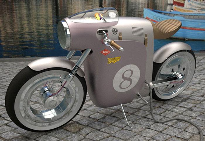 Moto electrique design