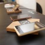 Smartphone en bois