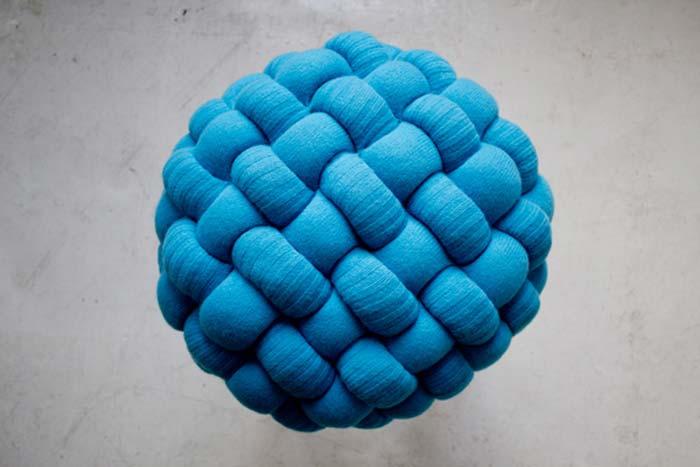 Tabourets design bleu