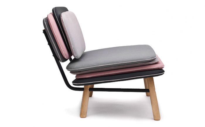 Fauteuil design Stack