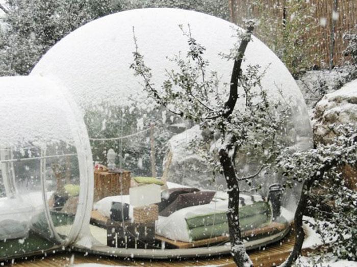Hotel design Bubble Hotel