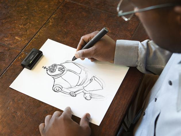 Wacom Inkling - le stylo digital