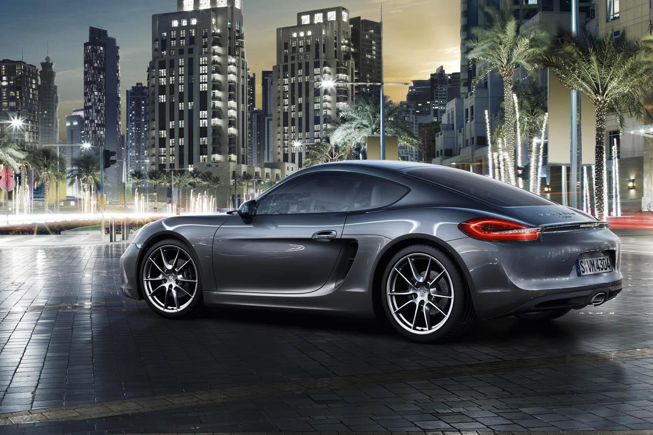 La nouvelle Porsche Cayman 2013