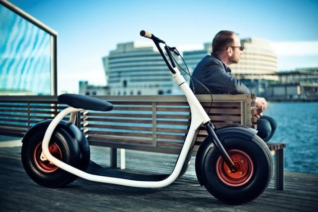 Scrooser, le scooter électrique au design minimaliste et épuré