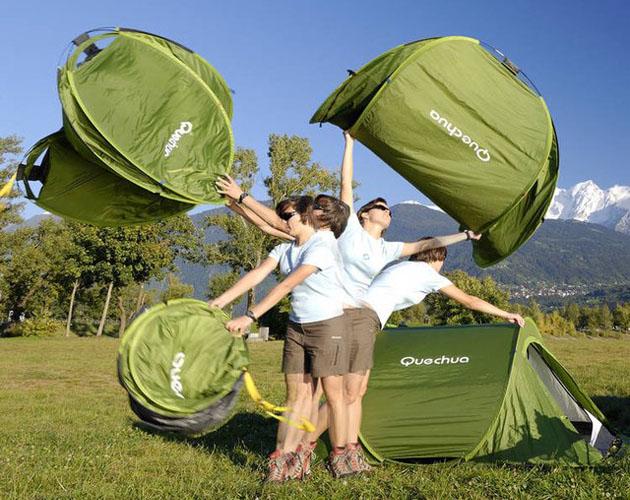 Comment monter une tente en 2 secondes ?