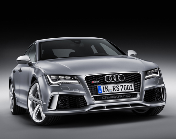 Présentation de l'Audi RS7