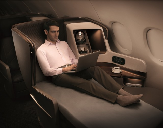 La classe affaire de Singapore Airlines