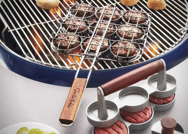 Kit barbecue Mini Burger