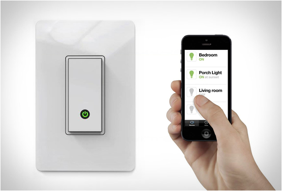 Interrupteur Belkin WiFi - Allumer vos lampes avec votre smartphone