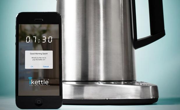 IKettle la bouilloire Wi-Fi pilotable via votre smartphone