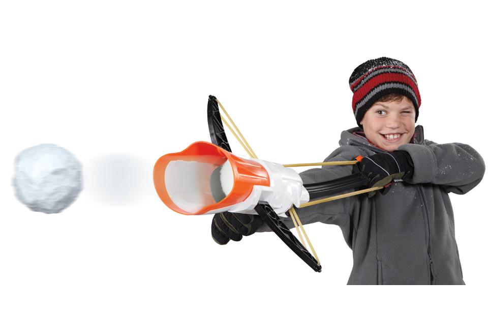 Un lance boules de neige pour vos batailles entre amis
