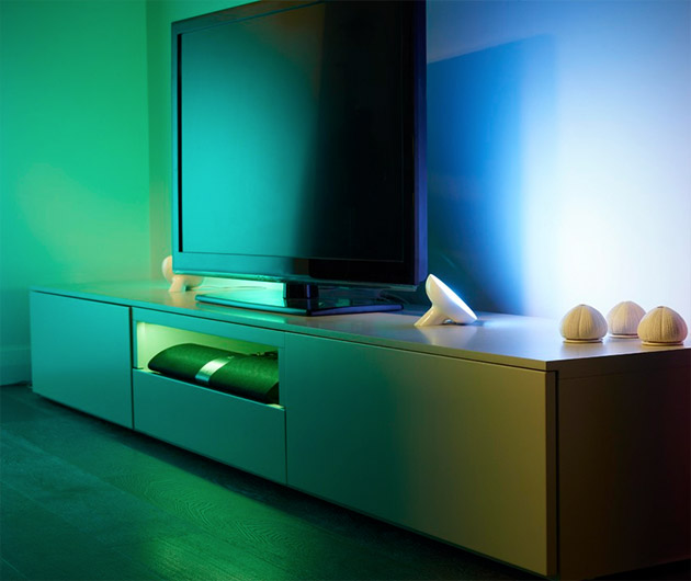 eclairage d 39 ambiance philips friends of hue. Black Bedroom Furniture Sets. Home Design Ideas