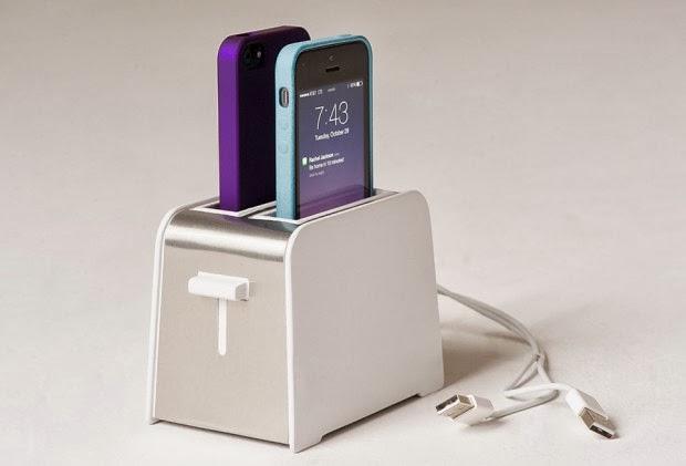 Chargeur Foaster pour iPhone en forme de grille-pain