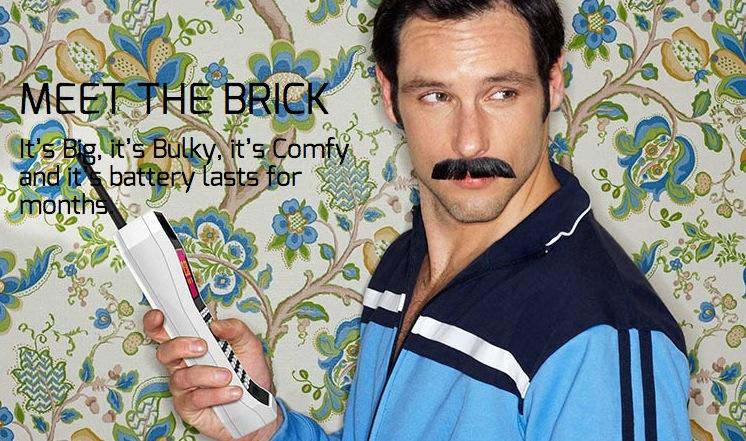 The Brick le téléphone des années 90