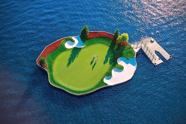 Le trou de golf le plus cool du monde