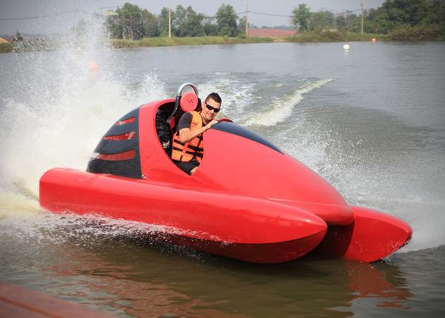 Wokart le karting nautique