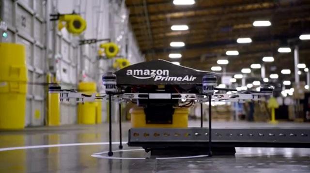 Un Drone Amazon livre ton colis en 30 minutes