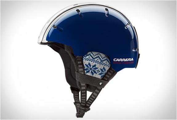 casque-snowboard-carrera-bleu