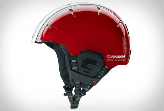 casque-snowboard-carrera-rouge