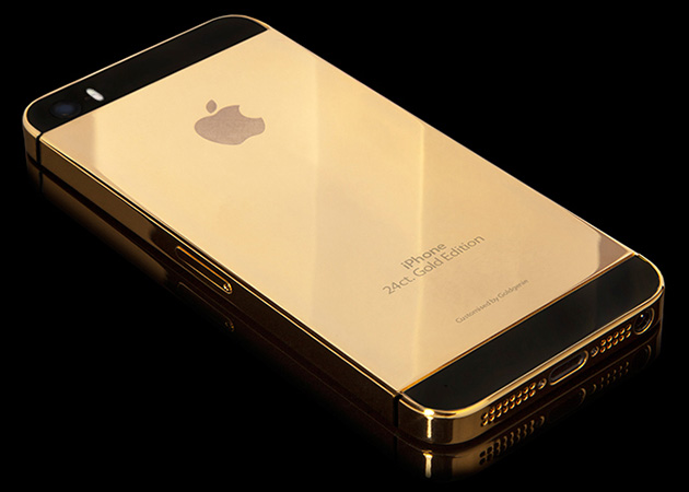 iPhone 5S en or 24 carats