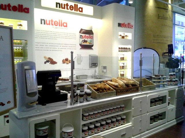 Un bar Nutella à Chicago