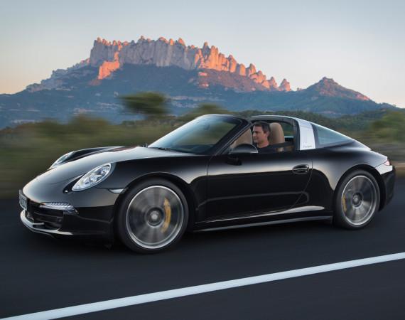 La Porsche 911 Targa 4 est de retour
