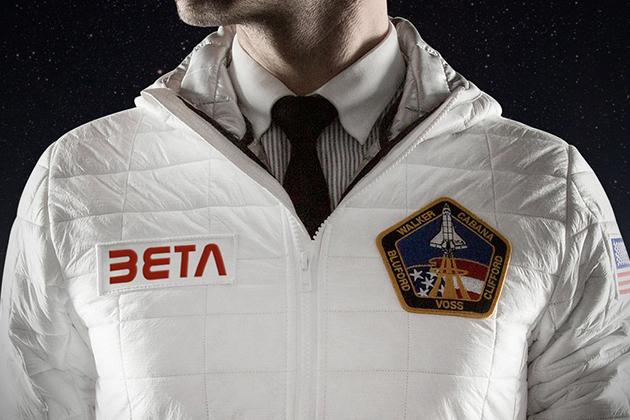 Blouson inspiré de la célèbre veste thermique de la NASA