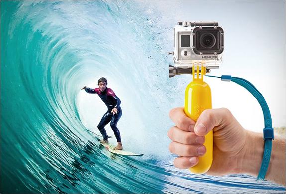 The Bobber une poignée Flotteur Gopole pour GoPro