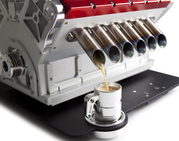 Machine à café espresso V12 de Veloce