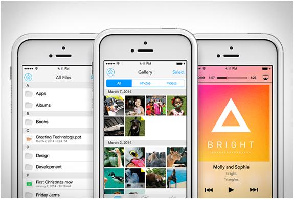 Ajouter de l'espace de stockage à votre iPhone avec Mophie