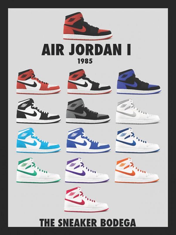 poster-nike air-jordan-1985