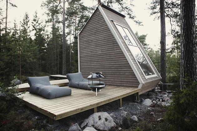 Petites maisons à la fois cools, innovantes et insolites