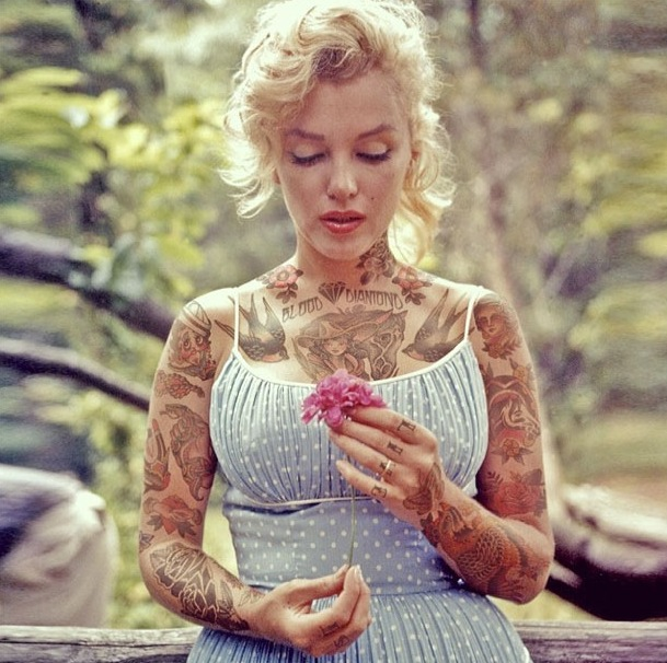 Marilyn-Monroe-tatouages