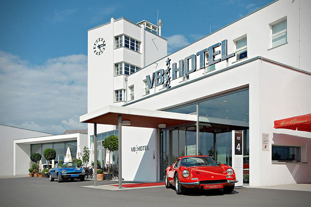 V8 Hotel im Meilenwerk Stuttgart