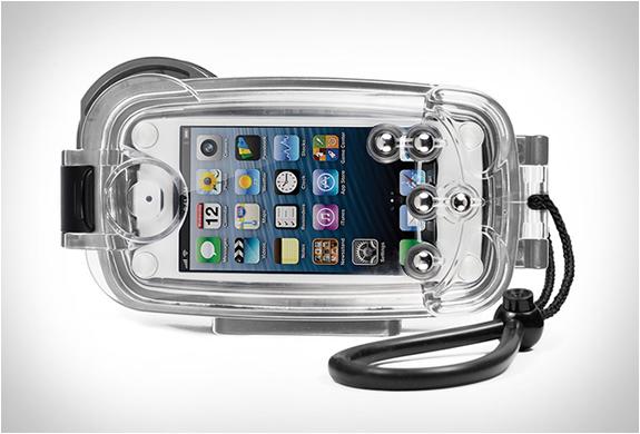 Boitier étanche Watershot Pro pour iPhone 5/5S