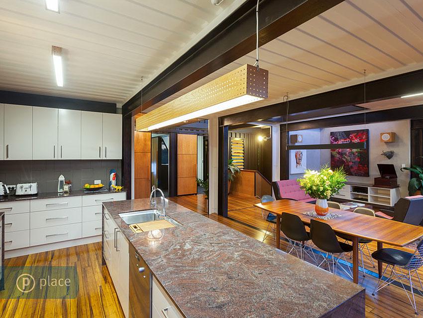 Maison design construite avec des conteneurs - Les materiaux pour construire une maison ...