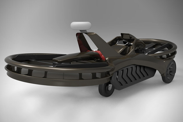 Aero - X l'aéroglisseur design