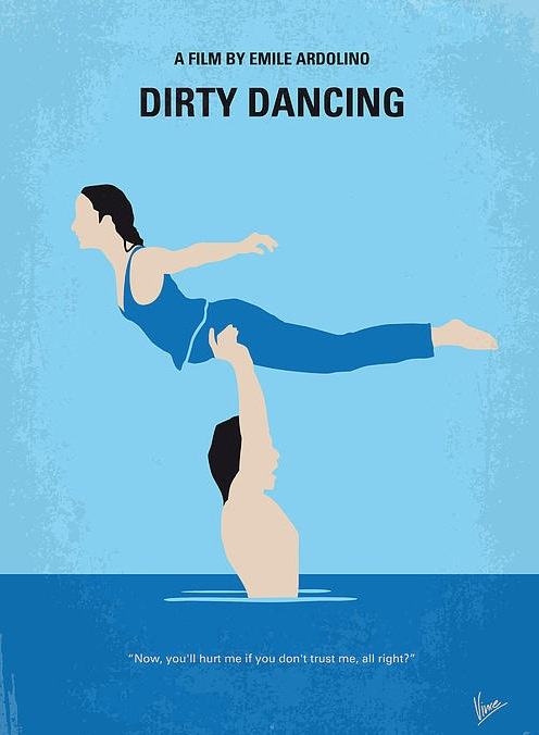 affiche-film-minimaliste-Dirty-Dancing