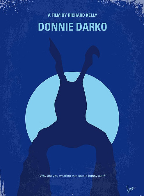 Affiche film minimaliste donnie darko arkko for Affiche minimaliste