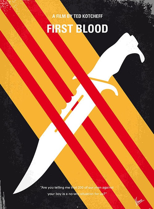 affiche-film-minimaliste-First-Blood