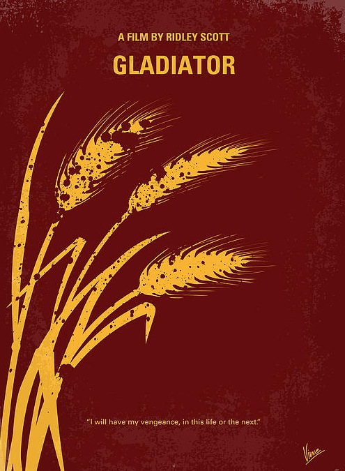 affiche-film-minimaliste-Gladiator