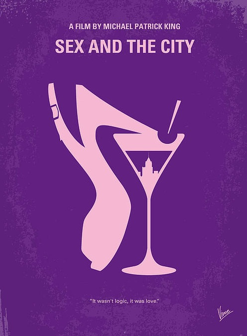 affiche-film-minimaliste-Sex-and-the-City