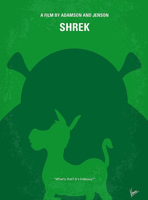 affiche-film-minimaliste-Shrek