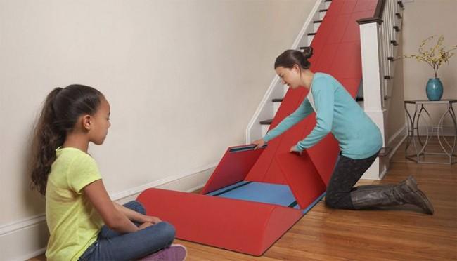 Transformer vos escaliers en toboggan d 39 int rieur for Toboggan escalier
