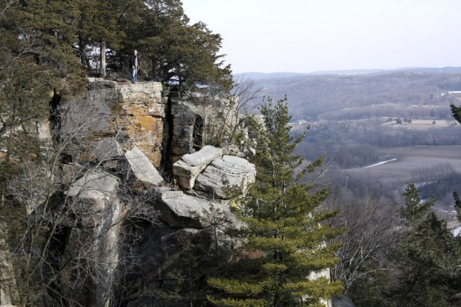 Gibraltar Rock - Wisconsin