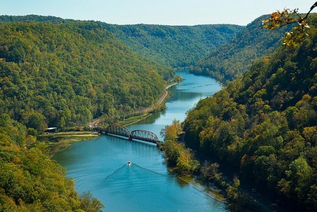 Hawks Nest Bridge - West Virginia
